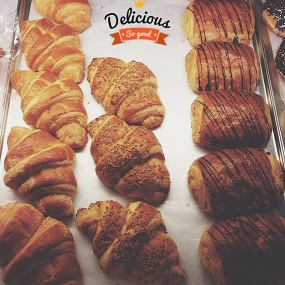 Croissants - Vineth Bakery in Panglima Polim