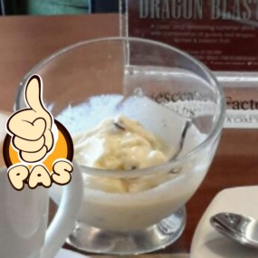 Vanilla Ice Cream - Cheese Cake Factory in Tebet