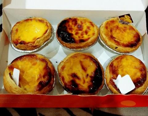 #myfoodchoco Portuguese egg tart