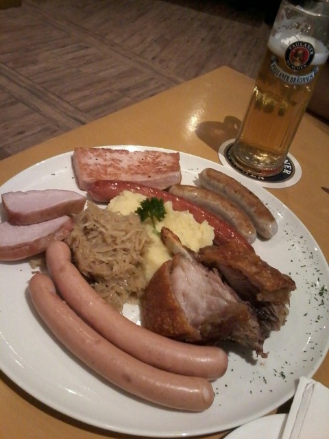 A recommended place to enjoy Bavarian's Food :) Once you try, u'll ask for more :D