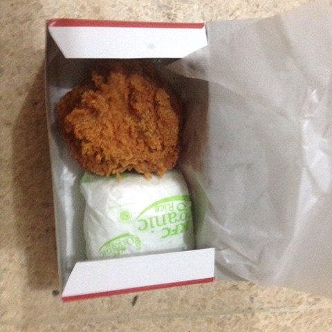 Ayam dada mentok red hot
